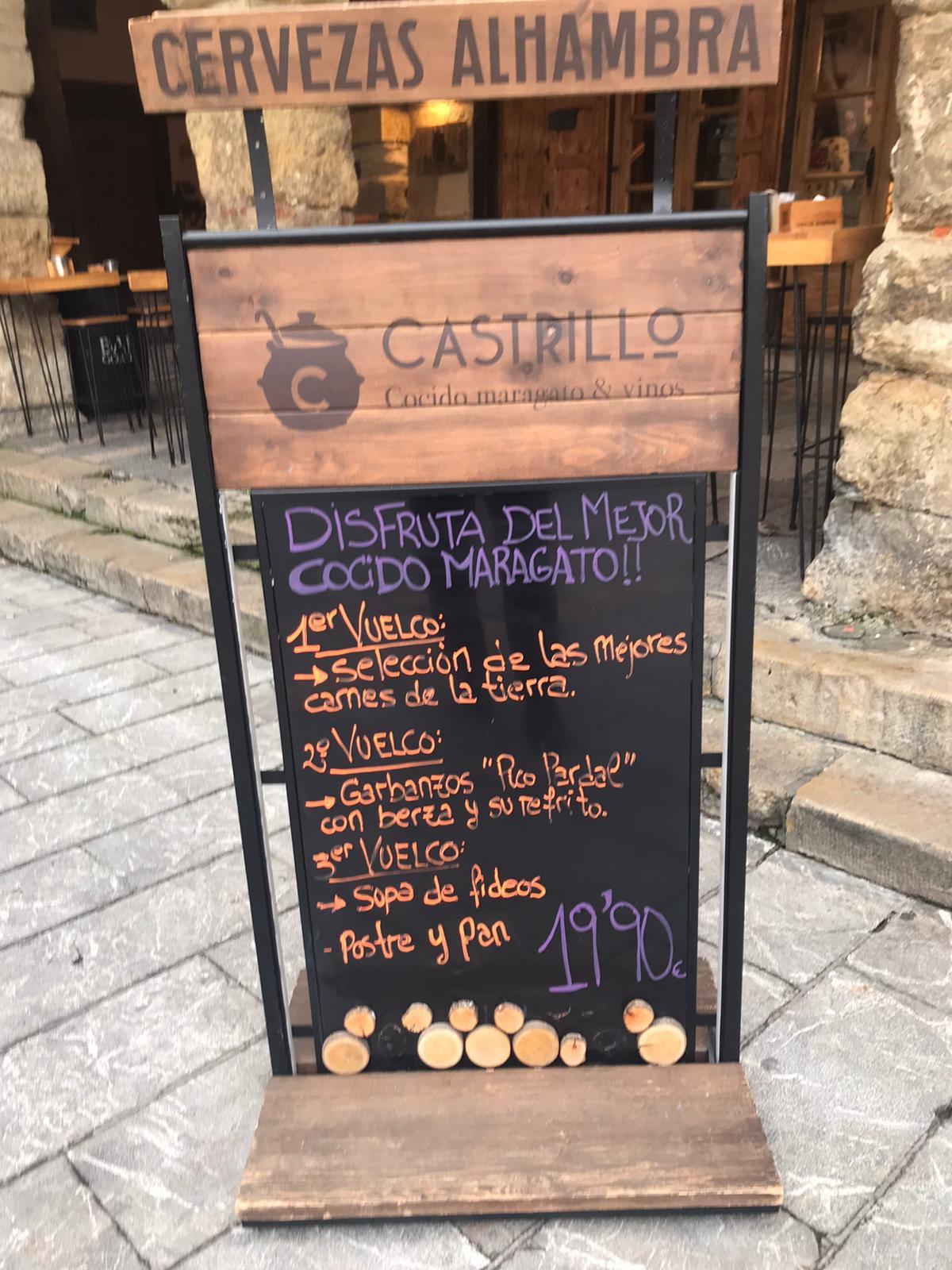 Reseña gastronómica: Restaurante Castrillo de León 2