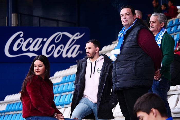 FOTOGALERÍA // La grada de El Toralín disfruta de una tarde de victoria ante el Huesca 12