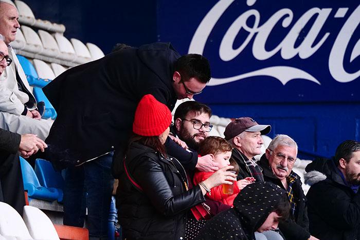 FOTOGALERÍA // La grada de El Toralín disfruta de una tarde de victoria ante el Huesca 48