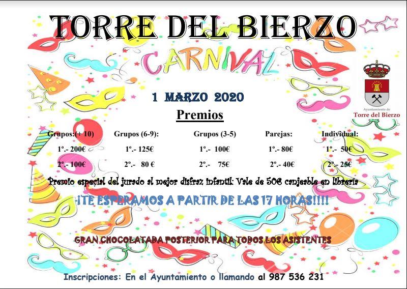 Carnaval en Torre del Bierzo. 1 de marzo 2020 2
