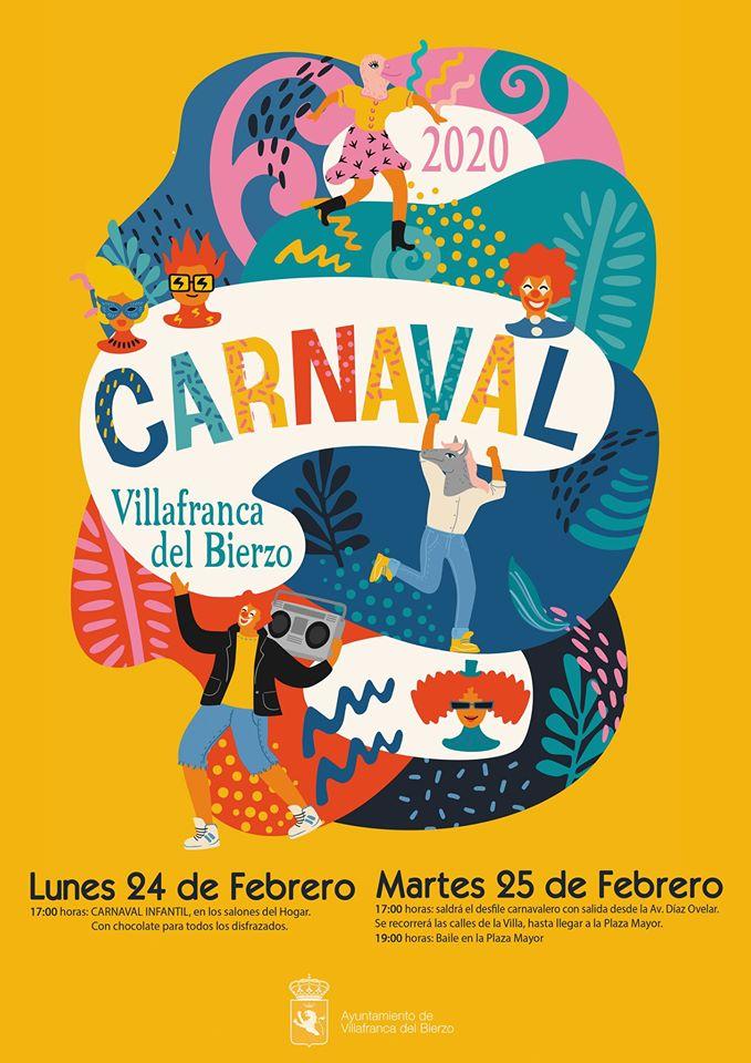Carnaval 2020 en Villafranca del Bierzo 2
