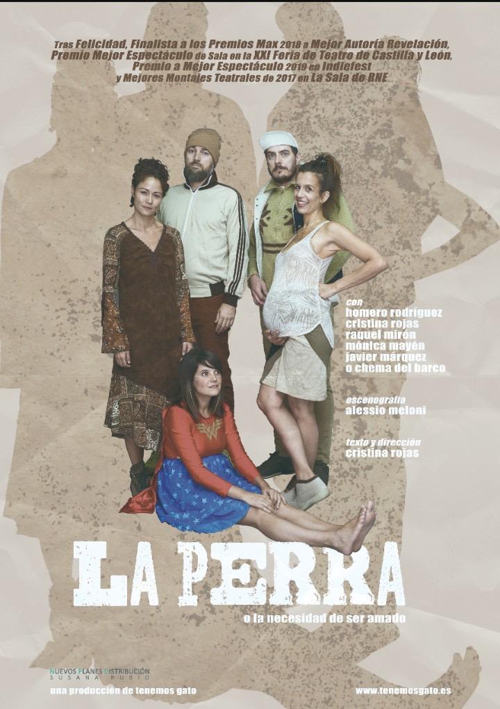 La berciana Raquel Mirón regresa al Bergidum dentro del montaje 'La Perra' que se representa el 14 de febrero 2