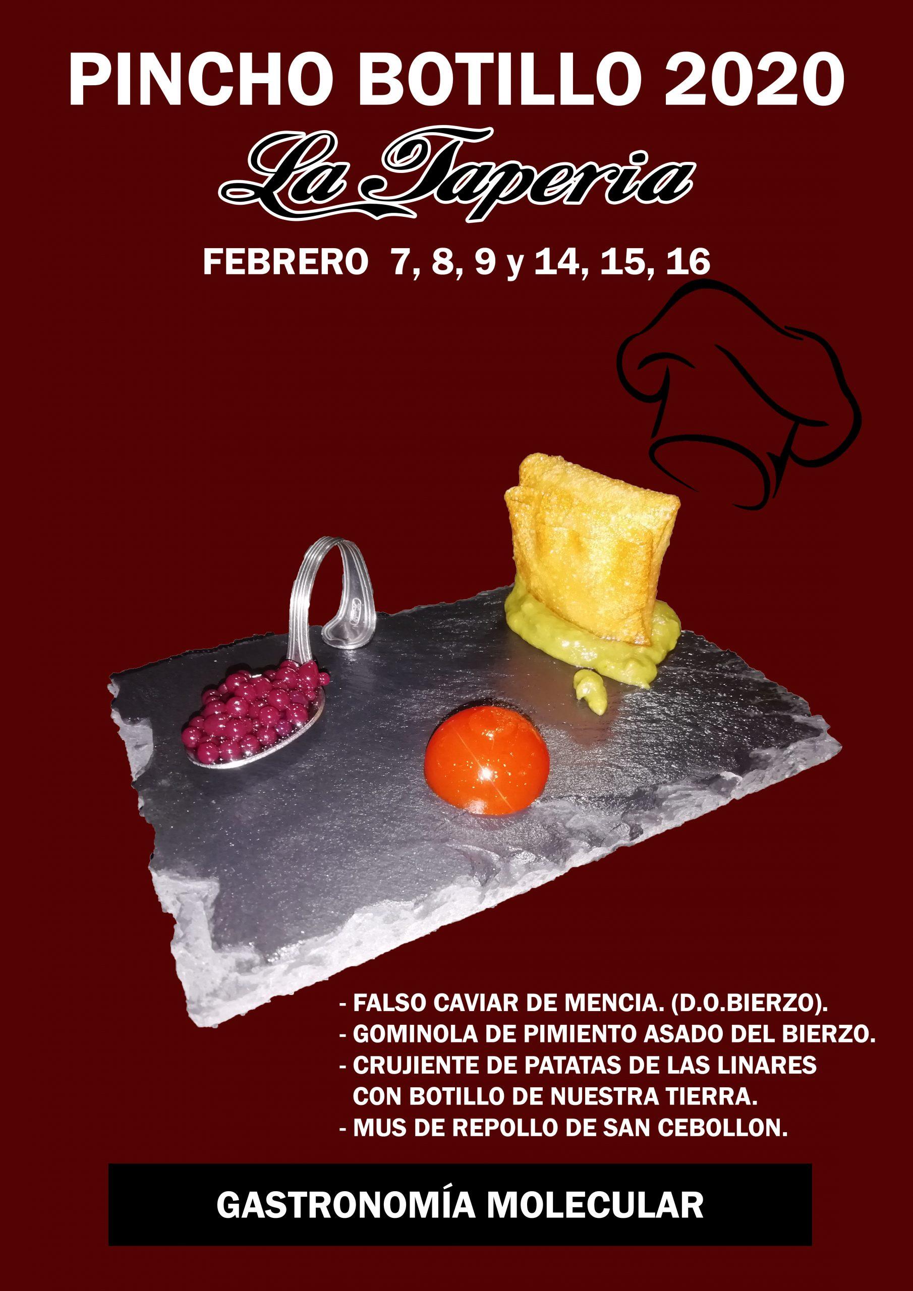 Este fin de semana, podrás degustar las creaciones de los hosteleros de Bembibre que participan en las Jornadas de Pinchos del Botillo 5