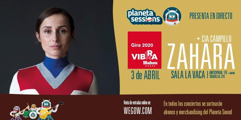 Zahara regresa a Ponferrada en abril dentro de la Gira #vibraMahou y Planeta Sessions 2