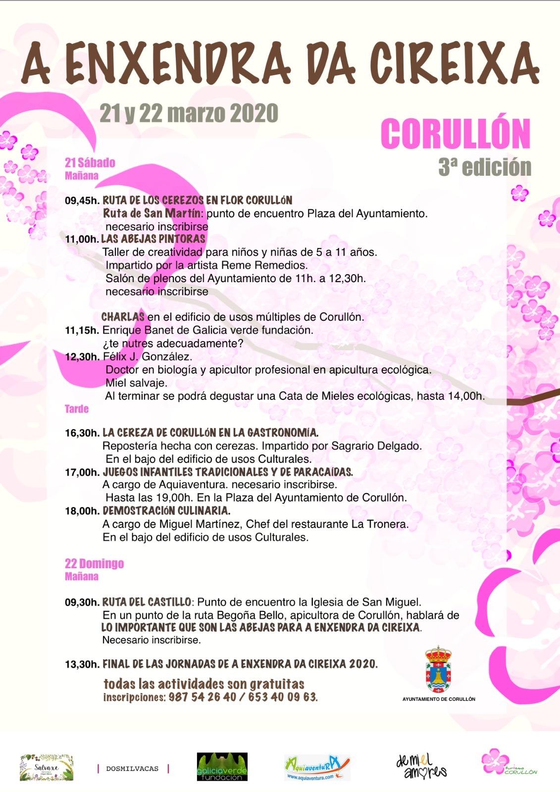 Llega la 3ª edición de 'A ENXENDRA DA CIREIXA' a Corullón 2