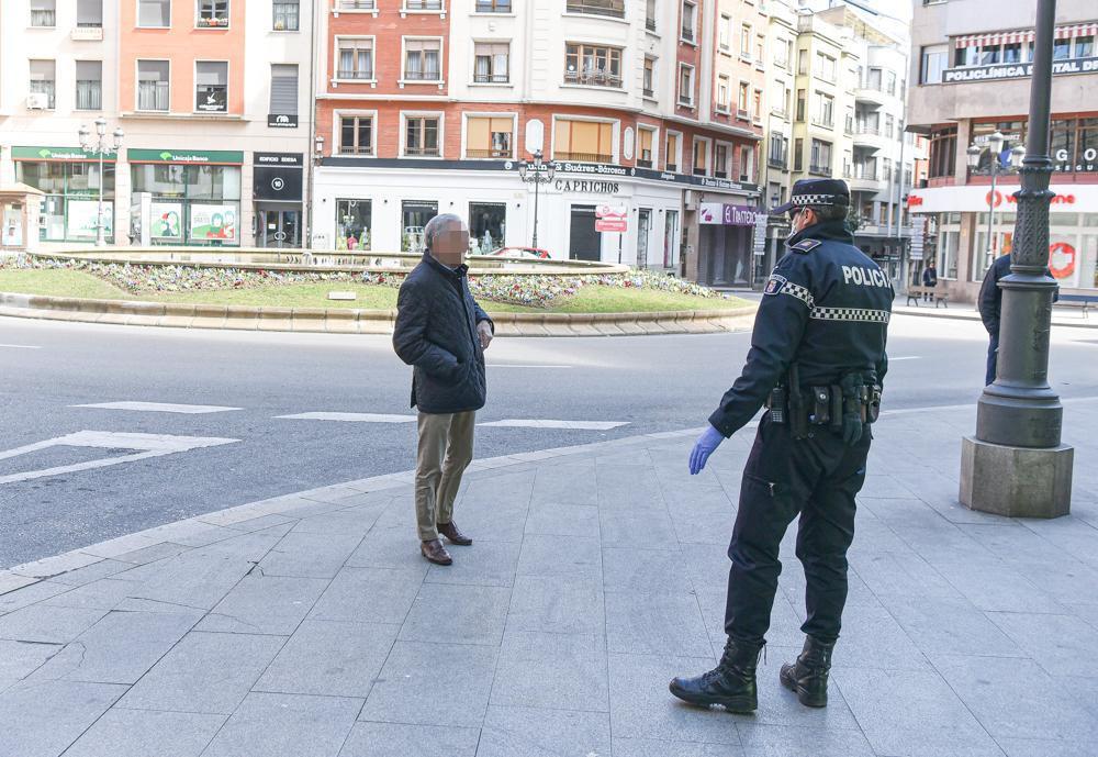 La Policia Municipal de Ponferrada insiste en que se sigue encontrando personas que desoyen las indicaciones del Estado de Alarma 5