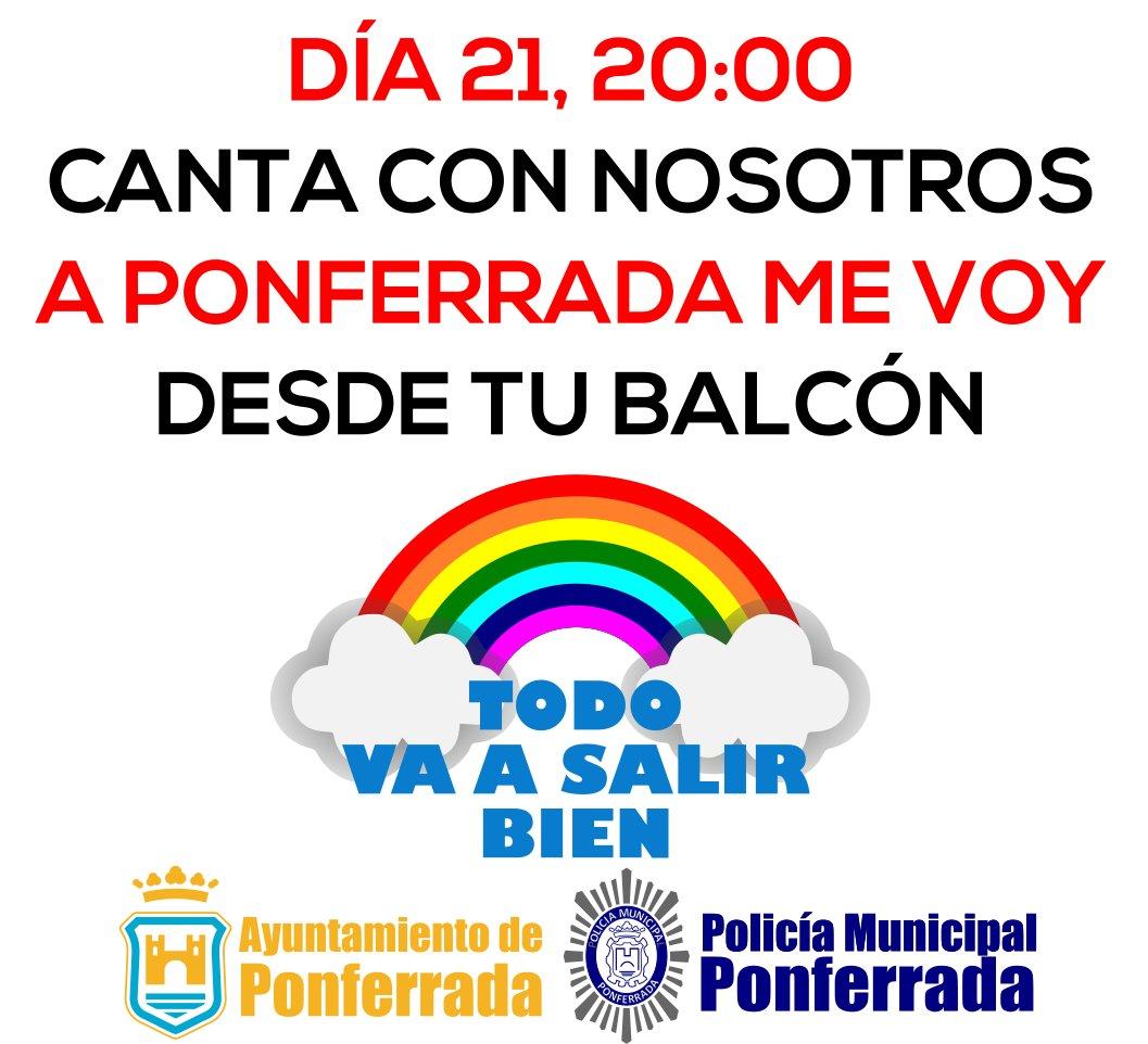 Policia Municipal y Ayuntamiento de Ponferrada quieren que 'A Ponferrada me voy' suene mañana en toda la ciudad 2