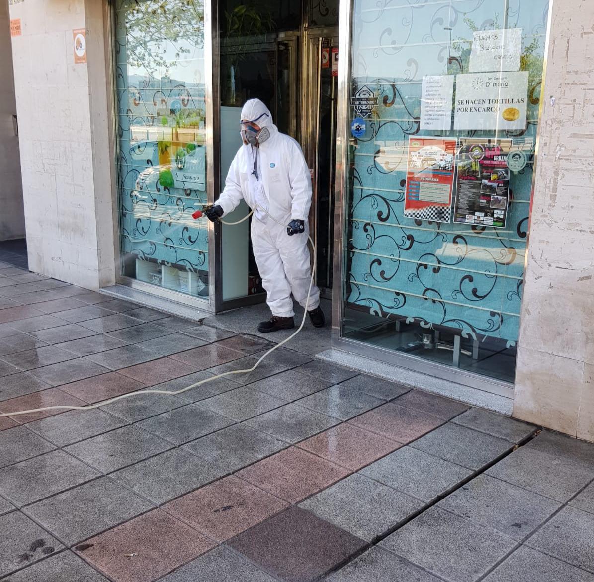 """David Rodríguez del servicio de limpieza de Ponferrada: """"Comenzar a trabajar y escuchar a alguien que te aplaude, es muy bonito"""" 3"""