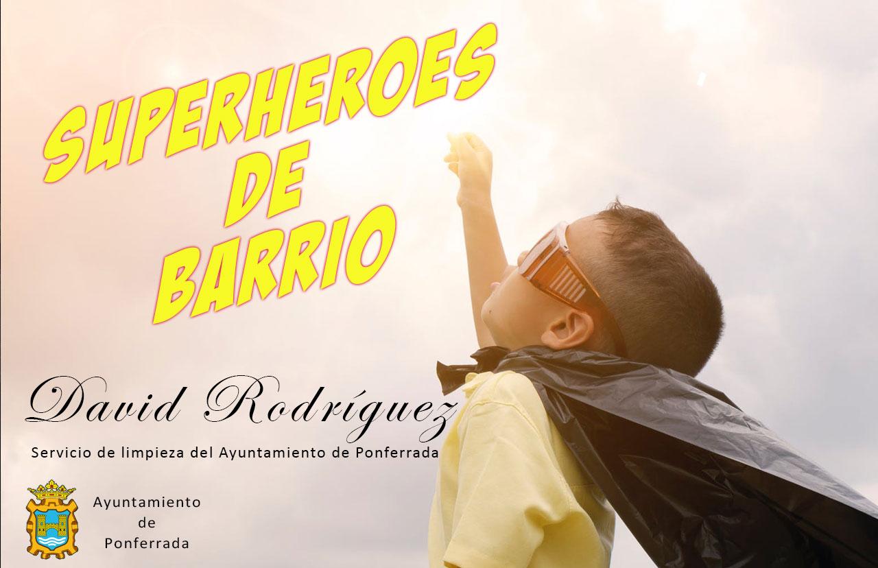 """David Rodríguez del servicio de limpieza de Ponferrada: """"Comenzar a trabajar y escuchar a alguien que te aplaude, es muy bonito"""" 2"""