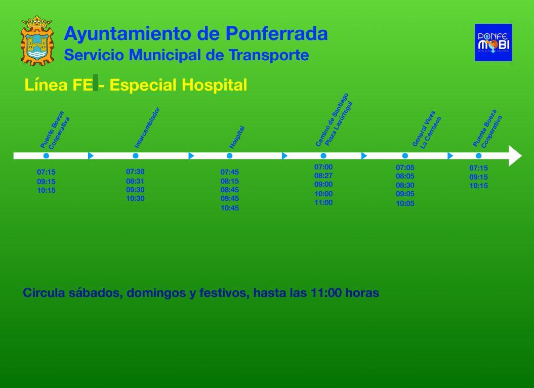 Consulta los horarios y servicios del Servicio Municipal de Transporte durante el Estado de Alarma COVID-19 6