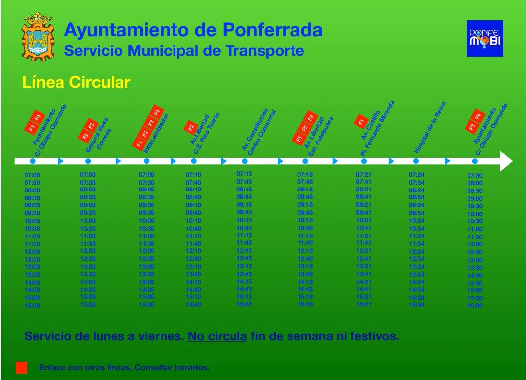 Consulta los horarios y servicios del Servicio Municipal de Transporte durante el Estado de Alarma COVID-19 7
