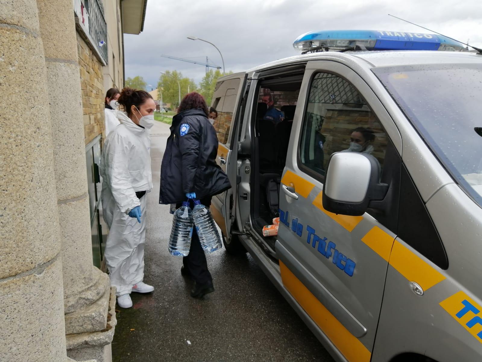 El albergue de peregrinos San Nicolás de Flué se convierte en un refugio para personas sin hogar durante el Estado de Alarma. 2